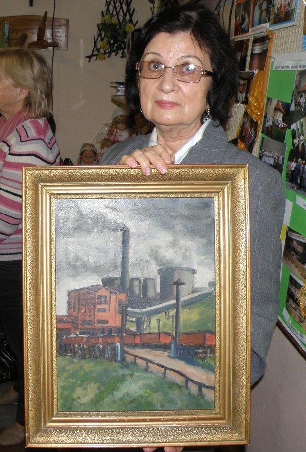 Rodičia Ľudmily Beznoskovej dostali od jedného z politických väzňov obraz.