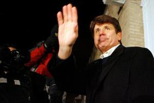 Rod Blagojevich sa s kreslom guvernéra v štáte Illinois rozlúčil.