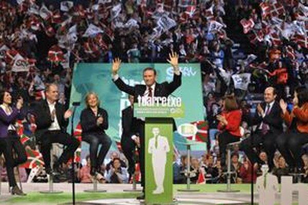Juan Jose Ibarretxe síce nacionalistom voľby v Baskicku vyhral, po 29 rokoch však môžu prvýkrát odísť do opozície.