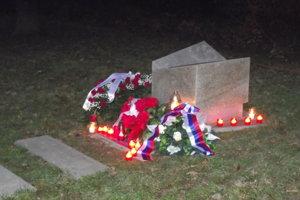 Pamätník obetiam komunizmu.