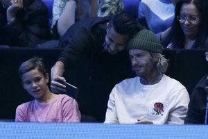David Beckham s fanúšikom.