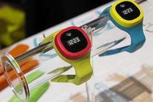 Model múdrych hodiniek hereO s GPS pre deti.