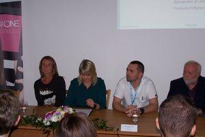 Daniela Hantuchová prišla podporiť projekt do martinskej nemocnice.