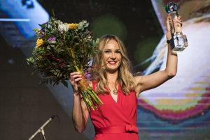 Magdaléna Rybáriková si prevzala ocenenie Tenistka roka 2017.
