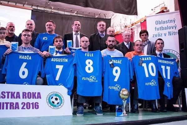 V Rumanovej budú ocenení najlepší hráči aj tréneri za uplynulý rok. Snímka je z predošlého ročníka.