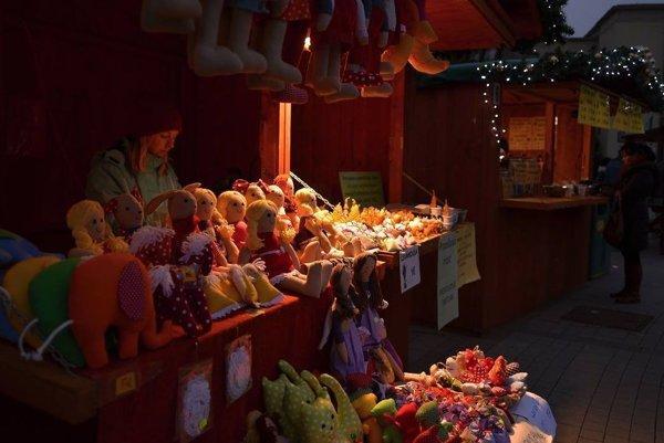 Vianočné trhy aj v centre Žiaru.