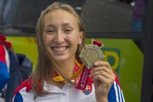 G. Gajanová získala na juniorskej Európe bronz. FOTO: TASR