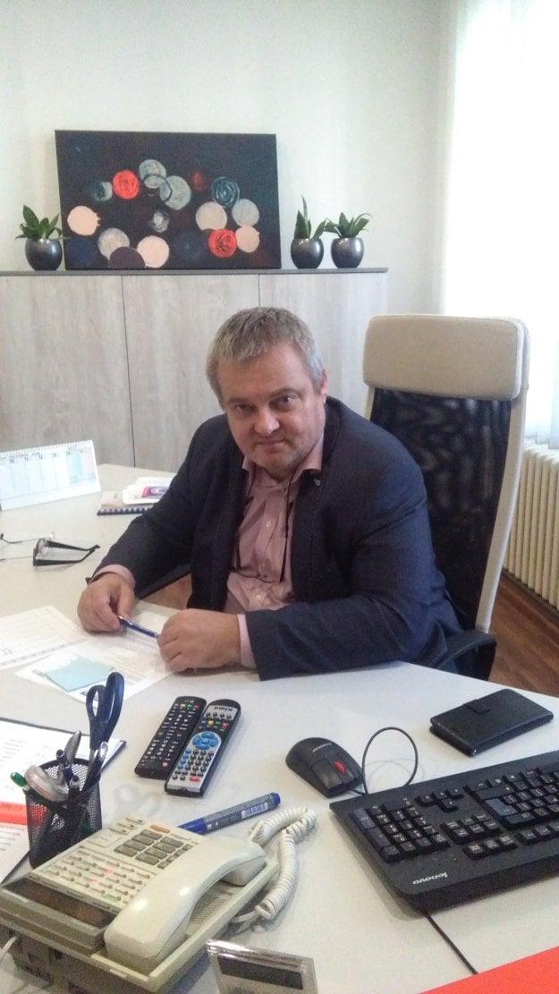 Daniel Žitňan, riaditeľ Fakultnej nemocnice v Trnave.