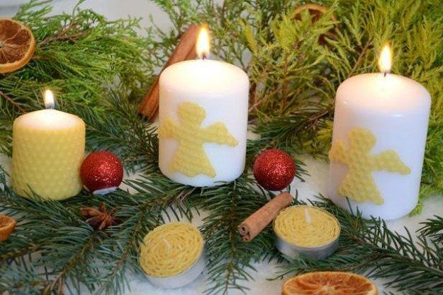 Spôsob, akým pripevníte včelí vosk na sviečky je prekvapujúco jednoduchá záležitosť.