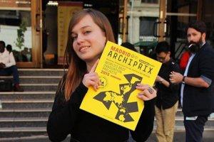 Adriana Debnárová z Pravenca si cenu Archiprix prevzala v Madride.