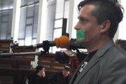 Protest Jozefa Petráša, bývalého hovorcu mesta Martin.