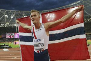 Filip Ingebrigtsen je úradujúci majster Európy v behu na 1500 m.