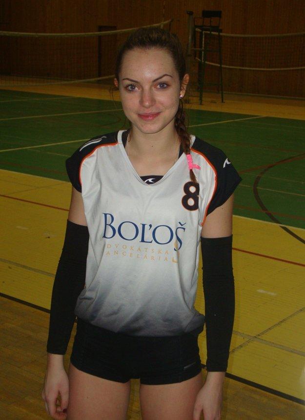 Monika Rákošiová debutovala vo farbách Zvolena.