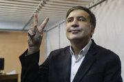 Bývalý gruzínsky prezident Michail Saakašvili.