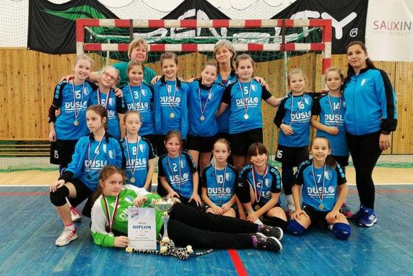 Tím prípravky HK Slovan Duslo Šaľa B dominoval na turnaji vo Veselí nad Moravou.