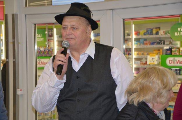Organizátor amoderátor akcie Tibor Barna.