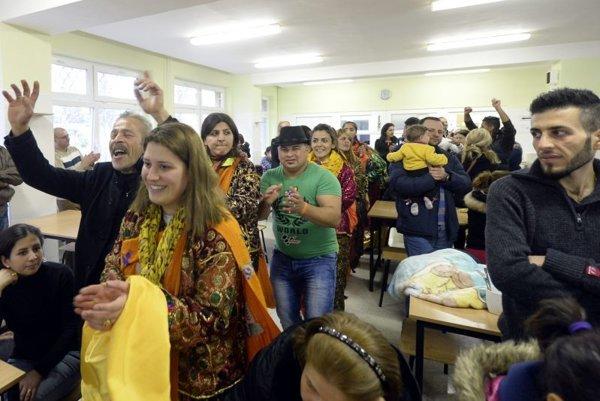 Asýrski kresťania z Iraku sú od štvrtka v Humennom.