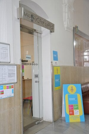 Integrované miesto je na prízemí mestského úradu.