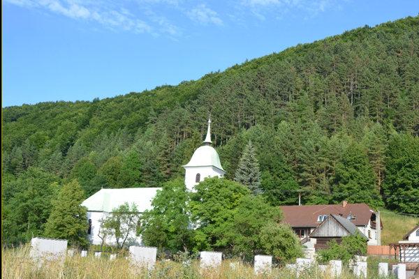 Evanjelický kostol Blanica.