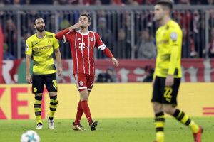 Ilustračná fotografia zo zápasu Borussia Dortmund - Bayern Mníchov.