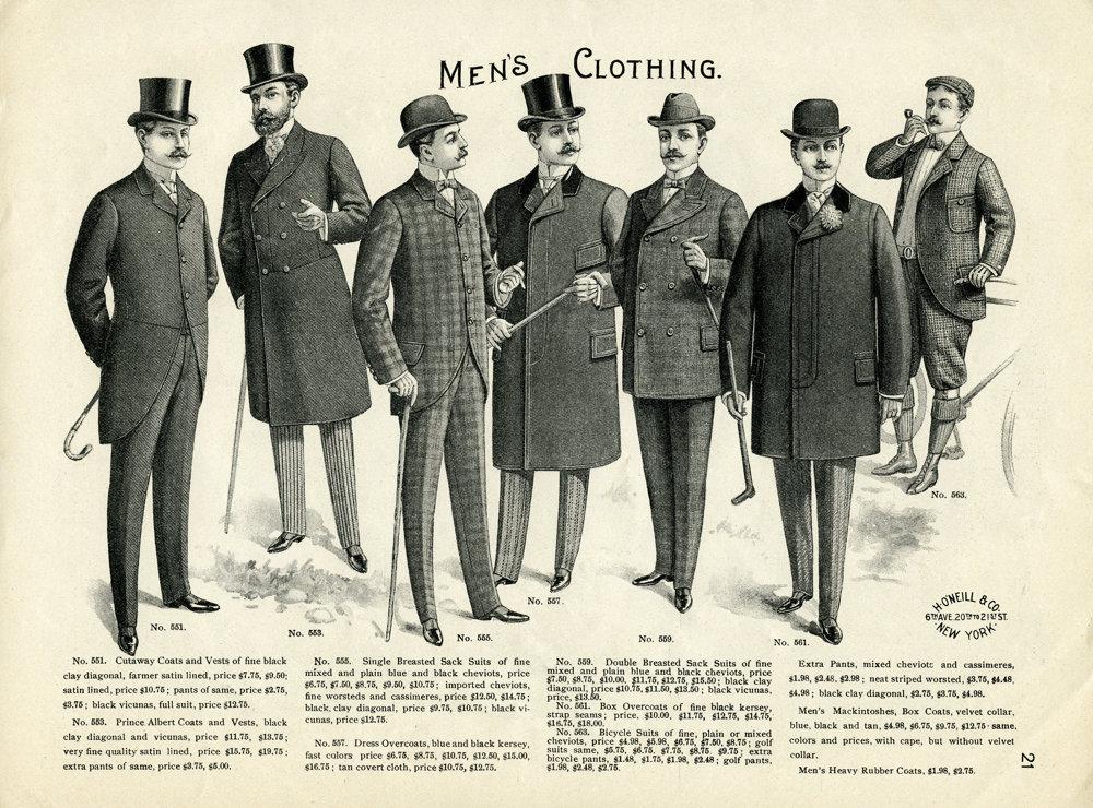 Muž, ktorý sa vyberie na návštevu, musí byť bezchybne oblečený a upravený.