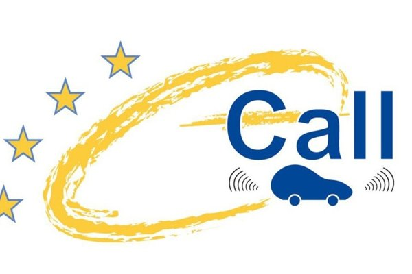 Logo systému e-call.