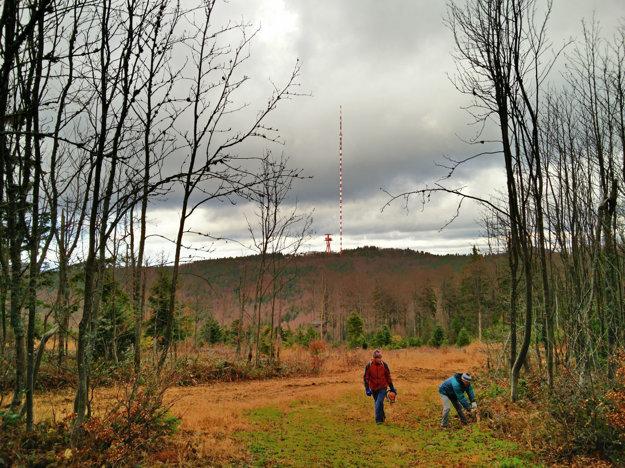 Ešte jedna jesenná zo Skalky pri Kremnici. Kým nasneží.