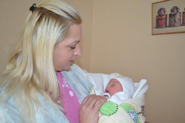 Lucas je prvý zvolenský novorodenec v tomto roku.