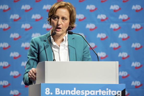Nemecká politička Beatrix von Storchová.