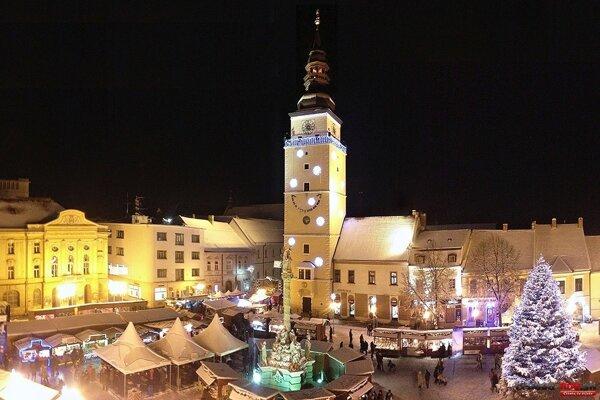 Vianočné trhy v Trnave.