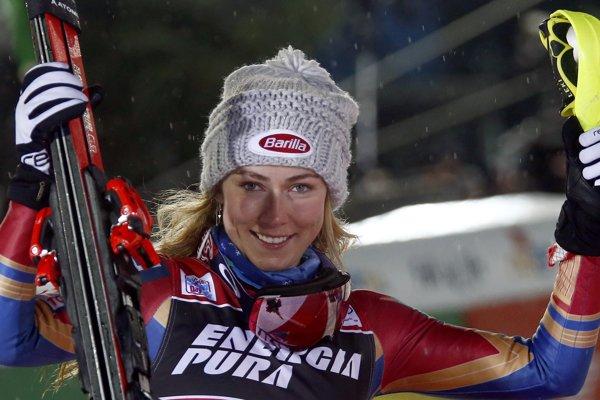 Američanka Mikaela Shiffrinová zvíťazila aj v Záhrebe.