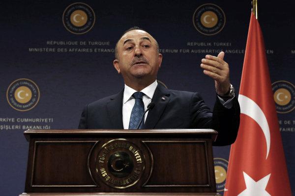Turecký minister zahraničných vecí Mevlüt Čavušoglu