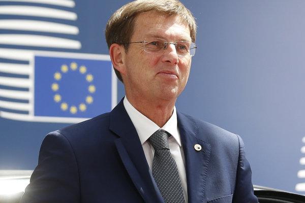 Slovinský premiér Miro Cerar.