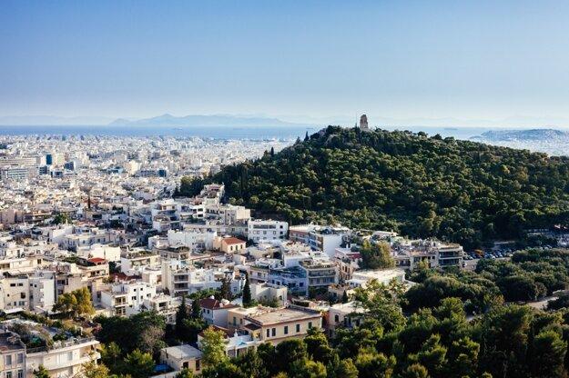 Pohľad na Atény