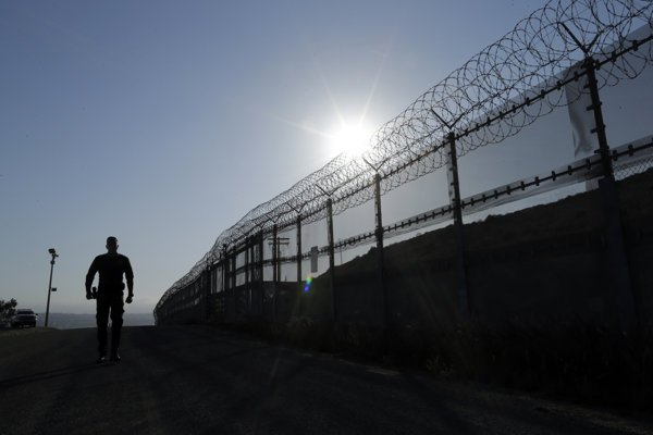 Plot na hraniciach s Mexikom.