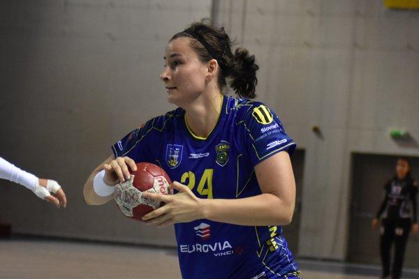 Vladimíra Bajčiová skórovala vkaždom zápase na turnaji.