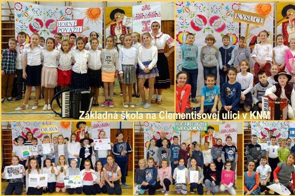 Vyučujúci 3. a4. ročníka ZŠ Clementisova vKNM realizovali so svojimi žiakmi zaujímavý projekt.