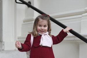 Britská princezná Charlotte.