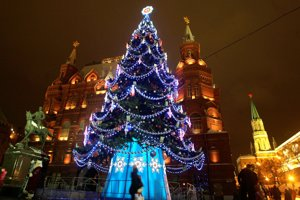 Jedlička je symbolom ruských novoročných sviatkov aj Vianoc.