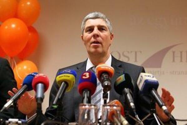 Predseda Mosta-Híd Béla Bugár.