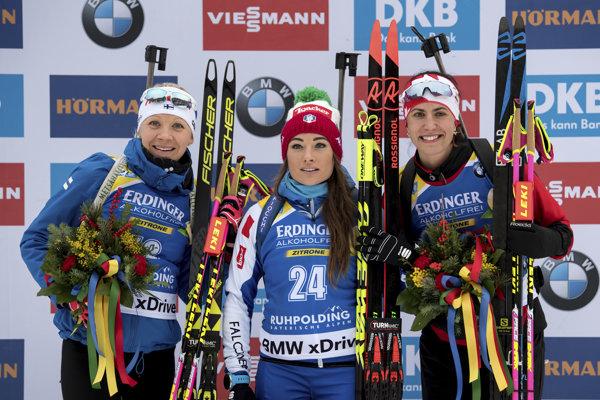 Anastasia Kuzminová je na čele celkového poradia.