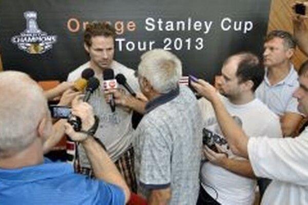 Stanley cup príde do centra Banskej Bystrice vo štvrtok.