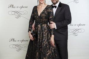Režisér Pepe Majeský s manželkou