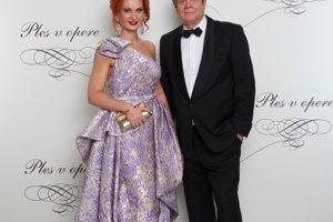 Vlado Černý s manželkou