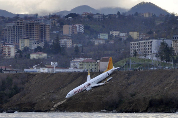 Lietadlo zišlo z dráhy.