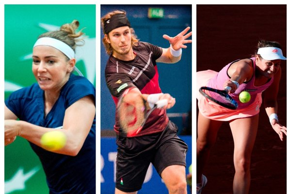V utorok sa na Australian Open predstavia traja slovenskí tenisti. Zľava: Kristína Kučová, Lukáš Lacko a Jana Čepelová.