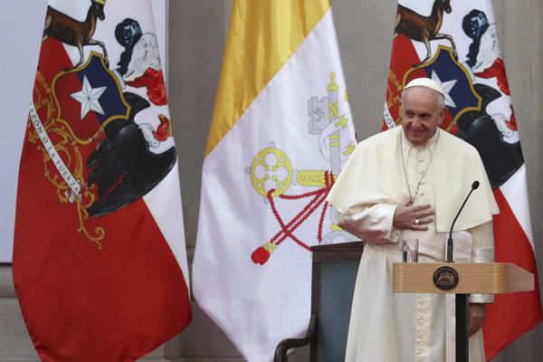 Pápež František navštívil Čile.