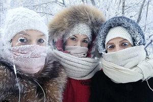 Teploty v Jakutsku dosahujú rekordné hodnoty.
