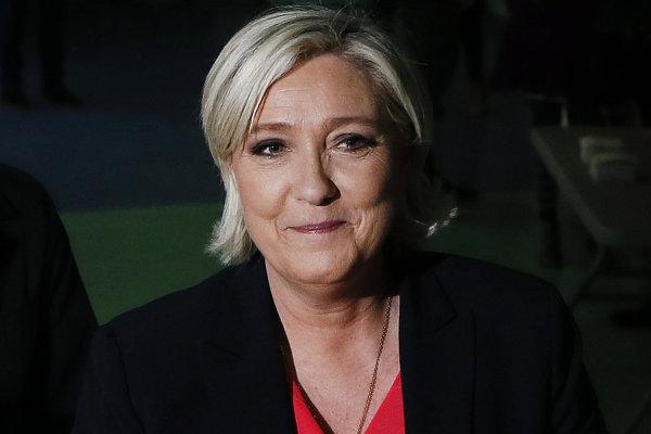 Neúspešná prezidentská kandidátka Marine Le Penová.