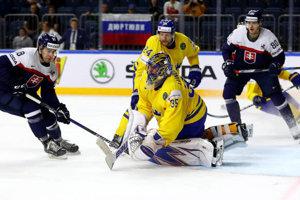 Andrej Kudrna (18) prekonal na posledných MS najlepšieho brankára na svete Švéda Henrika Lundqvista.